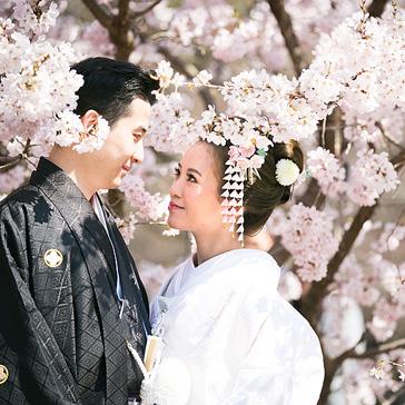 桜フォトギャラリー前撮り02