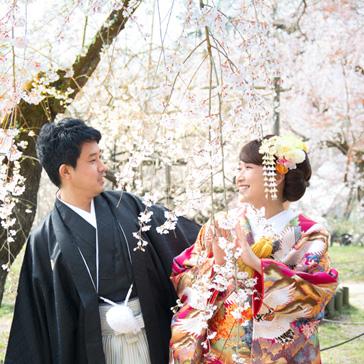 桜フォトギャラリー前撮り09