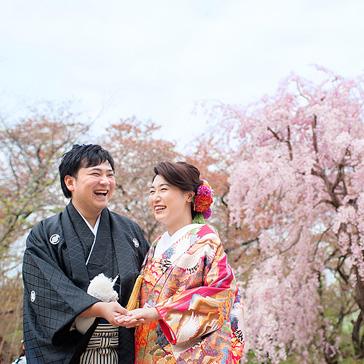 桜フォトギャラリー前撮り13