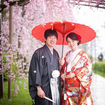 桜の前撮り15