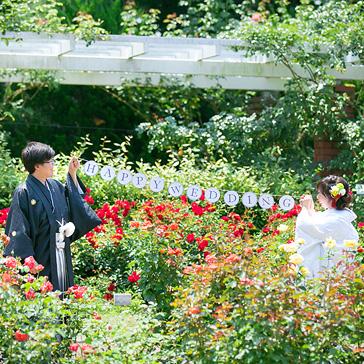 京都府立植物園の前撮り02