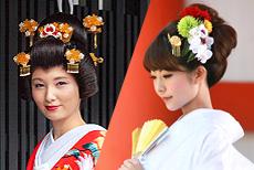 かつら→洋髪チェンジ