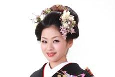 新日本髪(メイクリハーサルあり)