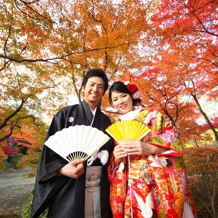 京都府立植物園の前撮り