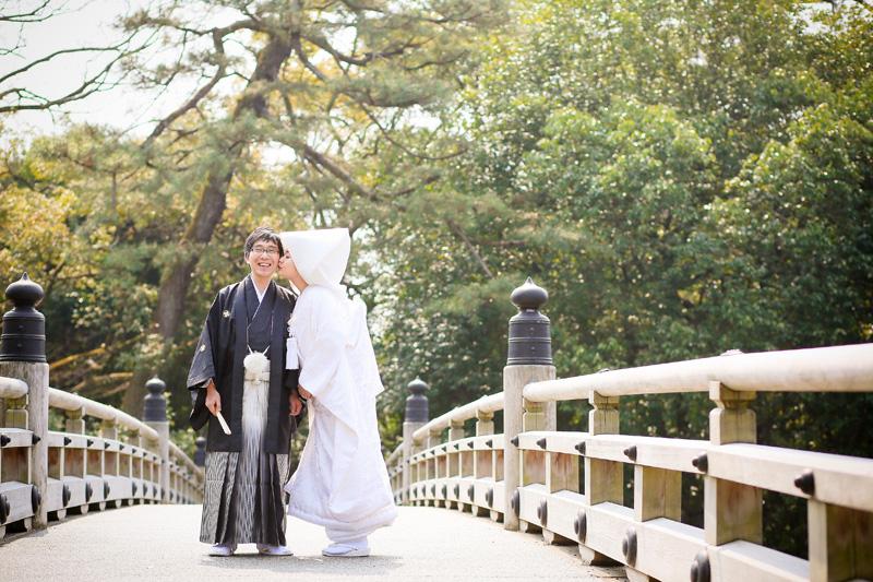京都御所の前撮り