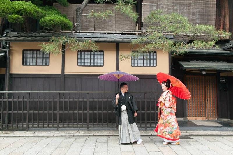 祇園の前撮り