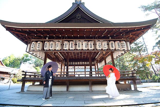 京都らしいロケ地で撮影