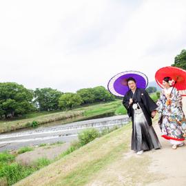 京都前撮り ロケ地 鴨川