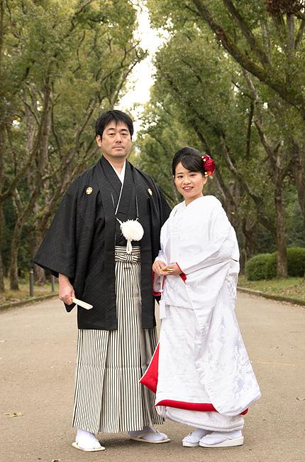 京都前撮り 白無垢