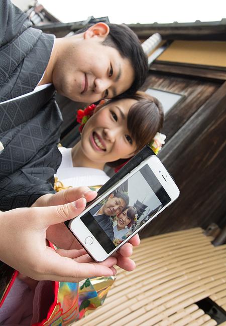 京都前撮り 八坂の塔