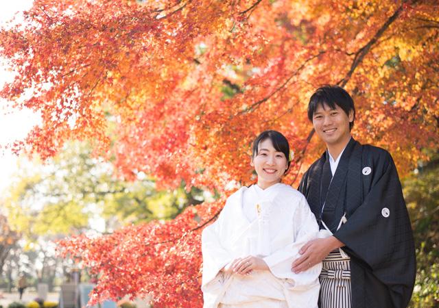 京都前撮り 植物園