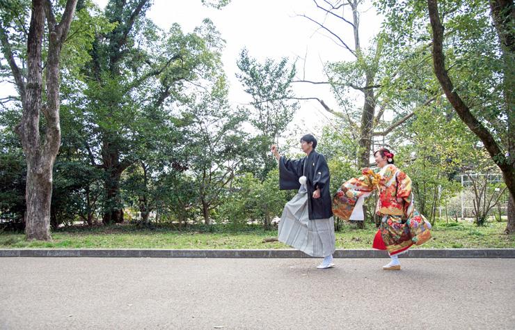 京都前撮り色打掛