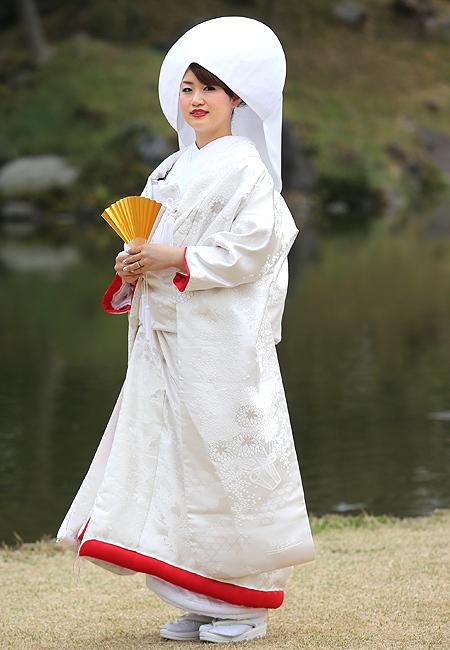 白無垢 菊桜散らしのブログ画像