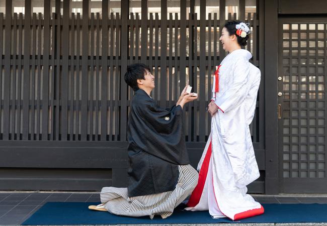 白無垢 刺繍雲霞に鶴のブログ画像